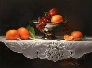 Bernatovich_RoseAnn_FruitOnLinen_Oil-1