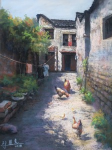 CHIU_LEE-HUI_Life-In-The-Old-Town_Pastels