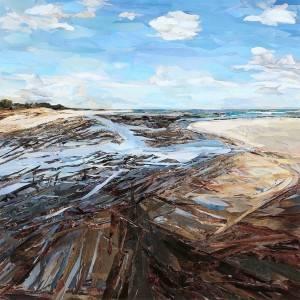 Flax_Carol_Mayflower Beach iii_Collage