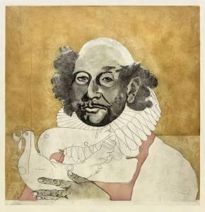 Lasansky_Diego_Study-of-Rembrandt_Intaglio-Print