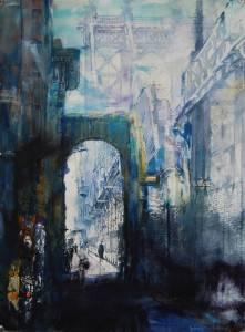 Masi_Antonio_Walk-on-Brdige_-Watercolor