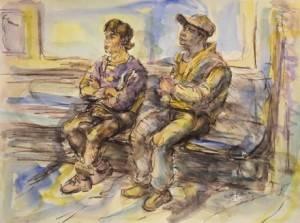 """Subway Riders"" by Jeffrey Berman"