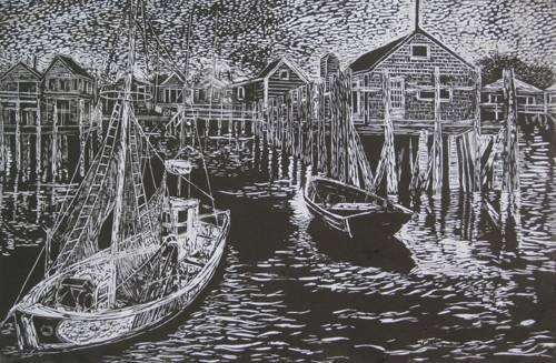 Provincetown Marina, Graphics